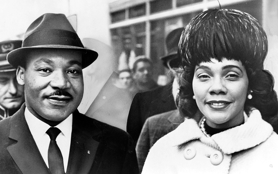 Coretta Scott King ~  Widow of Dr. Martin Luther King – Peace Activist